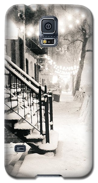 Buy Galaxy S5 Cases - New York City - Snow Galaxy S5 Case by Vivienne Gucwa