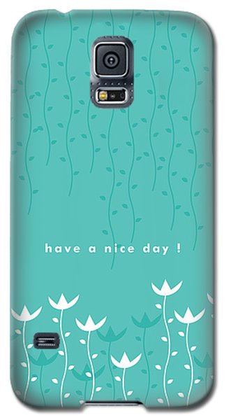 Nice Day Galaxy S5 Case by Kathleen Wong