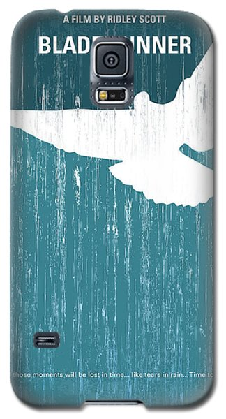 Science Fiction Galaxy S5 Cases - No011 My Blade Runner minimal movie poster Galaxy S5 Case by Chungkong Art