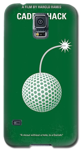 No013 My Caddy Shack Minimal Movie Poster Galaxy S5 Case by Chungkong Art