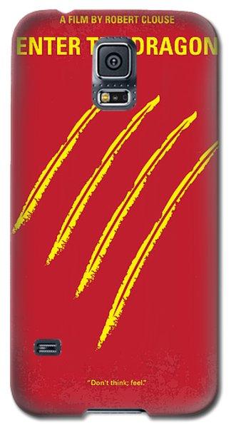 No026 My Enter The Dragon Minimal Movie Poster Galaxy S5 Case by Chungkong Art
