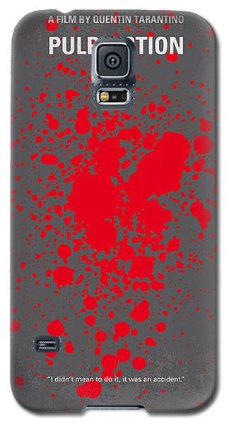 No067 My Pulp Fiction Minimal Movie Poster Galaxy S5 Case by Chungkong Art