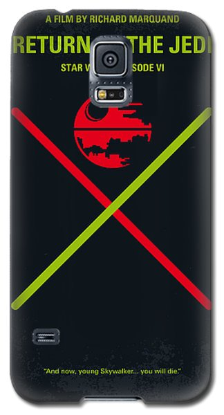 No156 My Star Wars Episode Vi Return Of The Jedi Minimal Movie Poster Galaxy S5 Case by Chungkong Art