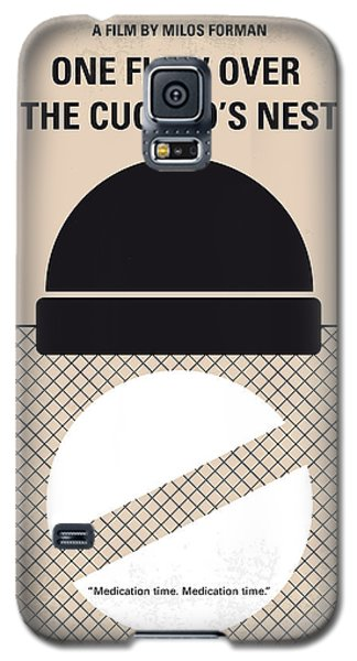 No454 My One Flew Over The Cuckoos Nest Minimal Movie Poster Galaxy S5 Case by Chungkong Art