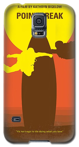 No455 My Point Break Minimal Movie Poster Galaxy S5 Case by Chungkong Art