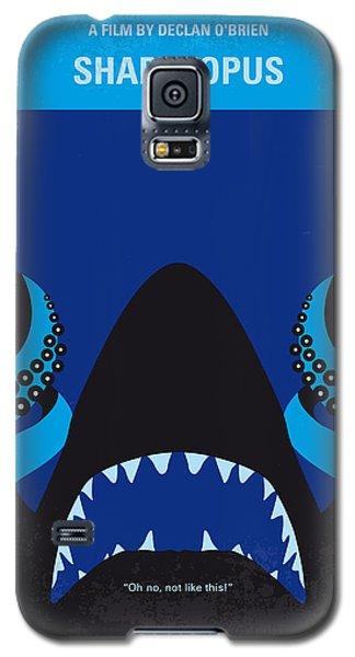 No485 My Sharktopus Minimal Movie Poster Galaxy S5 Case by Chungkong Art