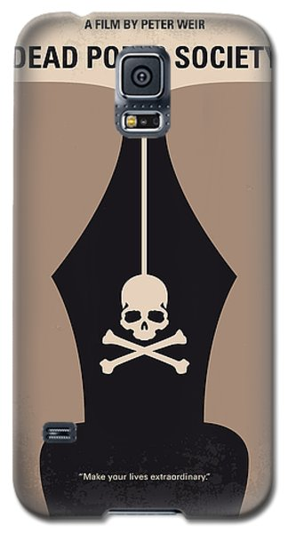 No486 My Dead Poets Society Minimal Movie Poster Galaxy S5 Case by Chungkong Art