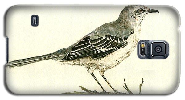 Northern Mockingbird Galaxy S5 Case by Juan  Bosco