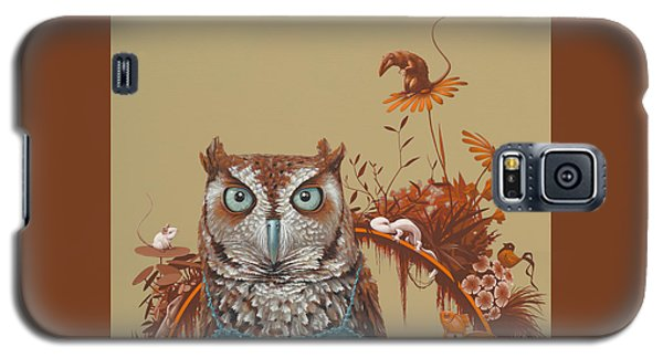 Northern Screech Owl Galaxy S5 Case by Jasper Oostland
