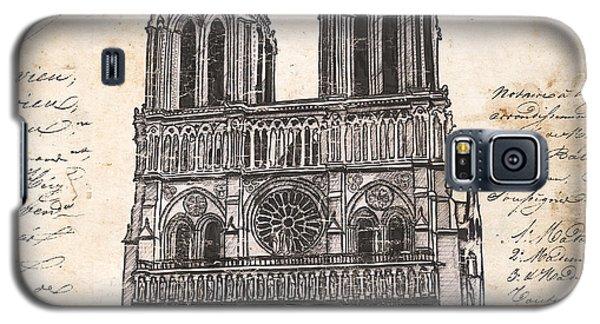 Notre Dame De Paris Galaxy S5 Case by Debbie DeWitt