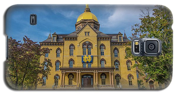 Notre Dame University Golden Dome Galaxy S5 Case by David Haskett