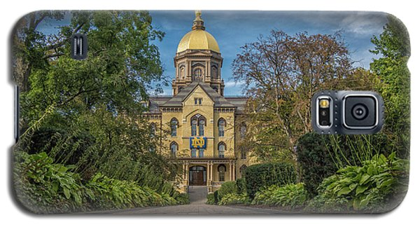 Notre Dame University Q1 Galaxy S5 Case by David Haskett