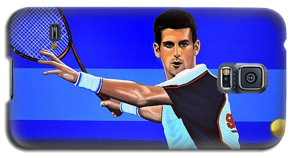 Novak Djokovic Galaxy S5 Case by Paul Meijering