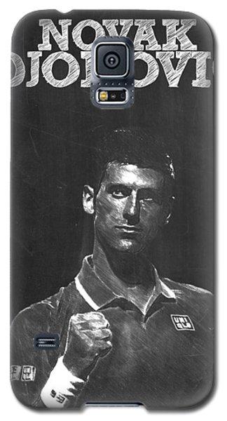 Novak Djokovic Galaxy S5 Case by Semih Yurdabak