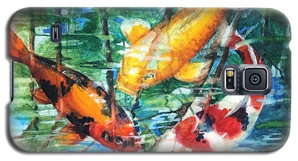 November Koi Galaxy S5 Case by Patricia Allingham Carlson