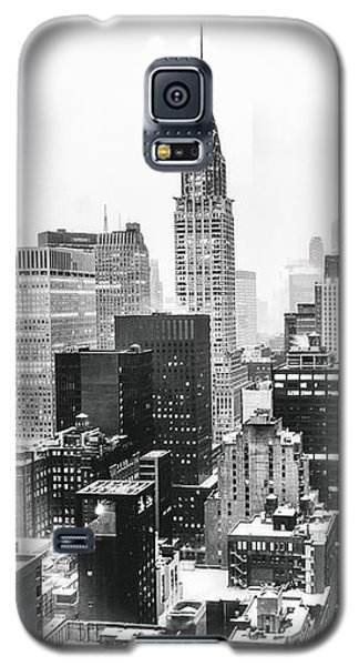 Nyc Snow Galaxy S5 Case by Vivienne Gucwa