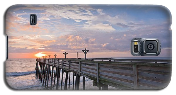 Seascape Galaxy S5 Cases - OBX Sunrise Galaxy S5 Case by Adam Romanowicz