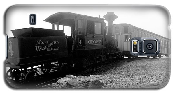 Old Locomotive Galaxy S5 Case by Sebastian Musial
