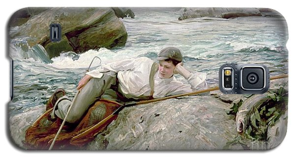 On His Holidays Galaxy S5 Case by John Singer Sargent