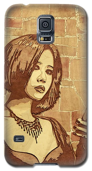 Sculptures Galaxy S5 Cases - On The Clock Galaxy S5 Case by Bobby Zeik