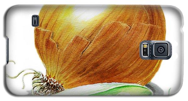 Onion And Peas Galaxy S5 Case by Irina Sztukowski