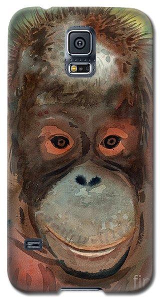 Orangutan Galaxy S5 Case by Donald Maier