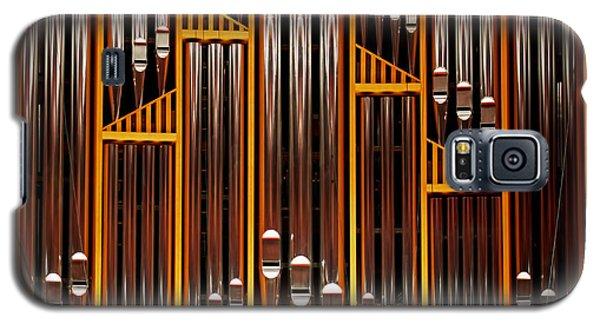 Organ Opus 76 - Philadelphia Galaxy S5 Case by Rona Black