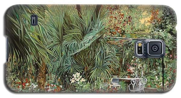 Our Little Garden Galaxy S5 Case by Guido Borelli