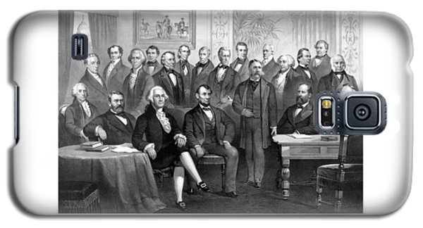 Our Presidents 1789-1881 Galaxy S5 Case by War Is Hell Store