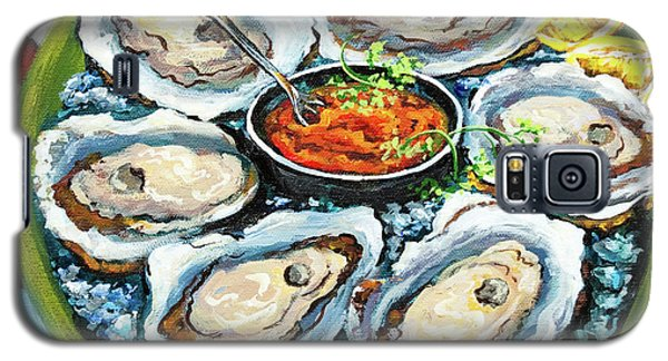 Oysters On The Half Shell Galaxy S5 Case by Dianne Parks