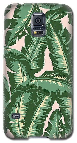 Palm Print Galaxy S5 Case by Lauren Amelia Hughes