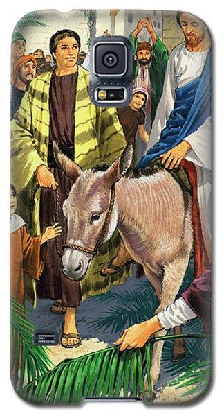 Palm Sunday Galaxy S5 Case by Clive Uptton