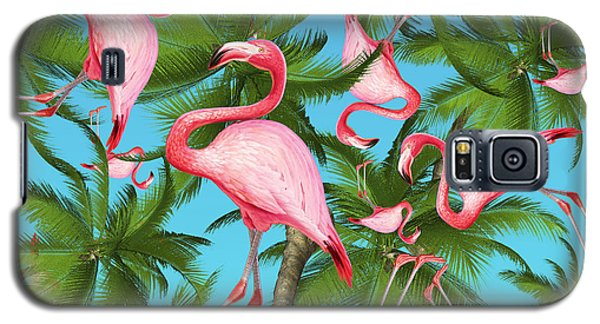Palm Tree Galaxy S5 Case by Mark Ashkenazi