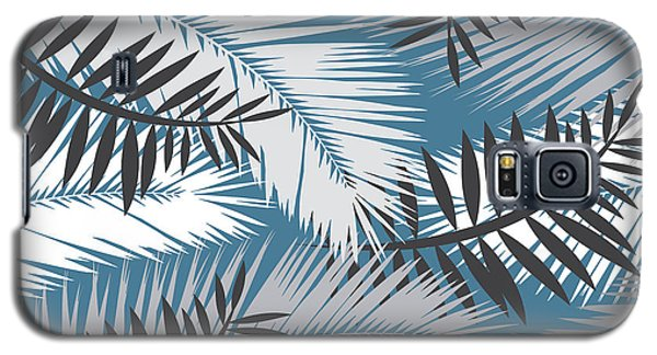 Palm Trees 10 Galaxy S5 Case by Mark Ashkenazi