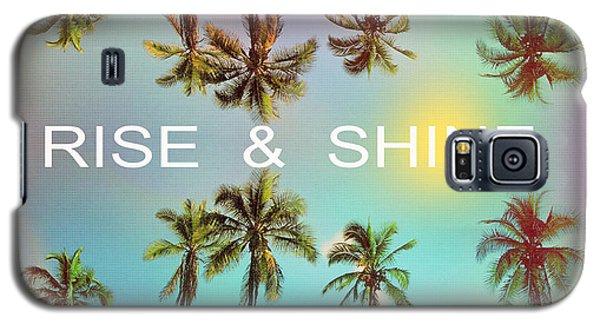 Palm Trees Galaxy S5 Case by Mark Ashkenazi
