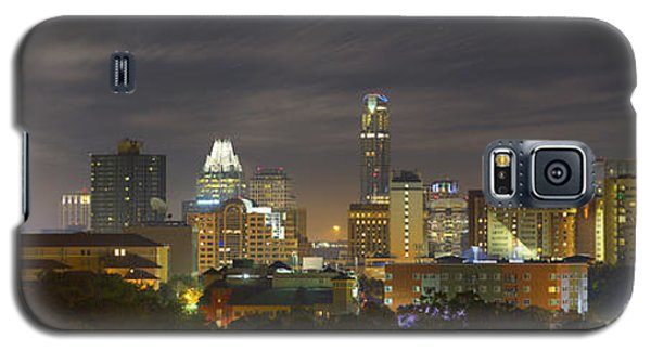 Panorama Of The Austin Skyline On A September Morning Galaxy S5 Case by Rob Greebon