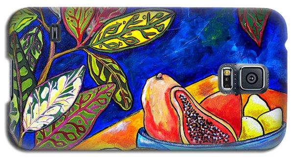 Papaya Morning Galaxy S5 Case by Patti Schermerhorn