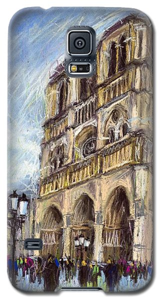 Paris Notre-dame De Paris Galaxy S5 Case by Yuriy  Shevchuk
