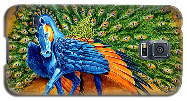 Peacock Pegasus Galaxy S5 Case by Melissa A Benson