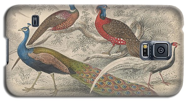 Peacocks Galaxy S5 Case by Oliver Goldsmith