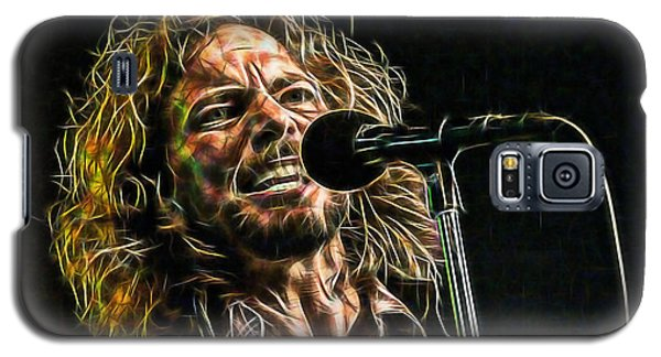 Pearl Jam Eddie Vedder Collection Galaxy S5 Case by Marvin Blaine