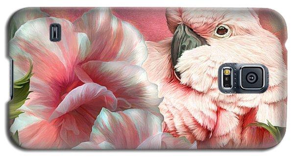 Peek A Boo Cockatoo Galaxy S5 Case by Carol Cavalaris