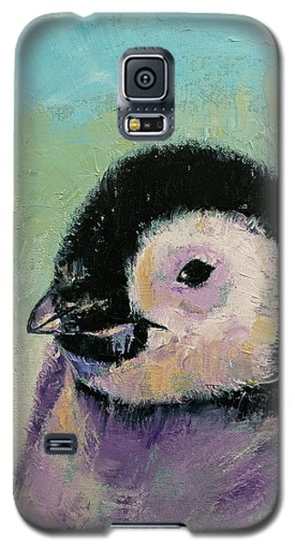 Penguin Chick Galaxy S5 Case by Michael Creese