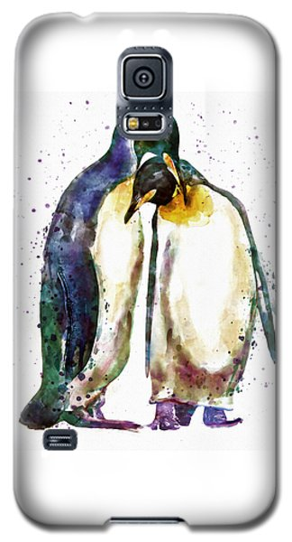 Penguin Couple Galaxy S5 Case by Marian Voicu