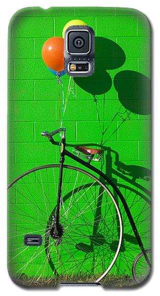 Penny Farthing Bike Galaxy S5 Case by Garry Gay