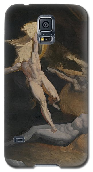 Perseus Slaying The Medusa Galaxy S5 Case by Henry Fuseli