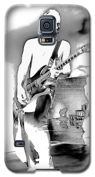 Phil Collen Of Def Leppard Galaxy S5 Case by David Patterson
