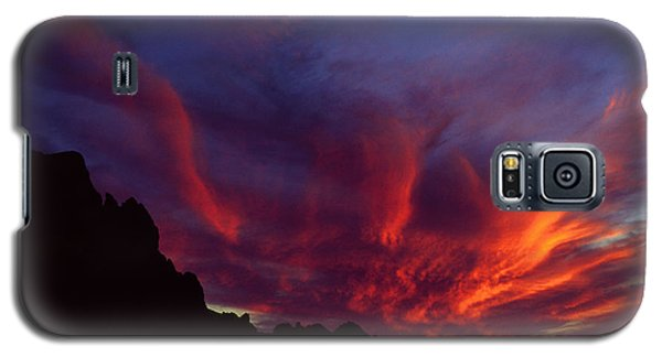 Phoenix Risen Galaxy S5 Case by Randy Oberg