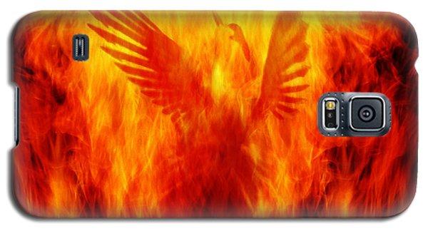 Phoenix Rising Galaxy S5 Case by Andrew Paranavitana