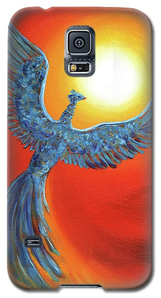Phoenix Rising Galaxy S5 Case by Laura Iverson